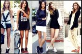 Renkli Sneakers Kombinleri ve Modelleri