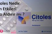 Citoles10 mg Film Tablet Nedir, Yan Etkileri