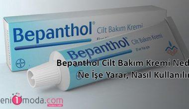 Bepanthol Cilt Bakım Kremi Faydaları Ve Kullanımı