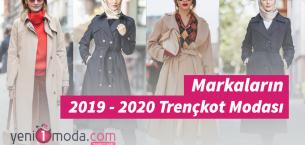 Markaların 2019-2020 Trençkot Modası