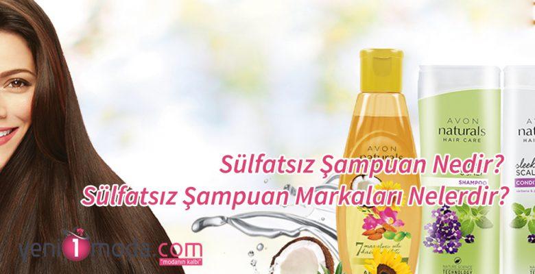 Sülfatsız Şampuan Nedir? Sülfatsız Şampuan Markaları Nelerdir?
