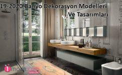 2019-2020 Banyo Dekorasyon Modelleri Ve Tasarımları